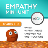 Empathy & Compassion Middle School Mini-Unit | Prezi & Printable Activities