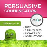 Convincing Versus Threatening Middle School Mini-Unit | Prezi & Printables