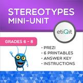 Debunking Gender Stereotypes Middle School Mini-Unit | Prezi & Printables