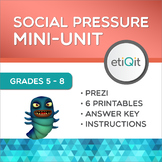 Social Pressure & Being Yourself Middle School Mini-Unit | Prezi & Printables