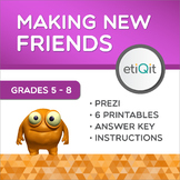 Making New Friends Middle School Mini-Unit | Prezi & Printable Activities