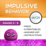Managing Impulsive Behavior Middle School Mini-Unit | Prezi & Printables