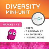 Diversity, Prejudice & Respect Middle School Mini-Unit | Prezi & Printables