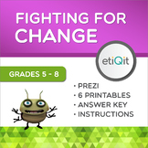 Injustice and Fighting For Change Middle School Mini-Unit | Prezi & Printables