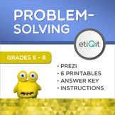 Creative Problem-Solving Middle School Mini-Unit | Prezi & Printable Activities