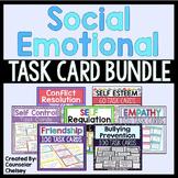 Social Emotional Task Cards Bundle (Save 20%)