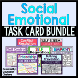 Social Emotional Task Cards Bundle (Save 20%)