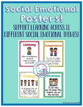 Social Emotional Teaching Posters