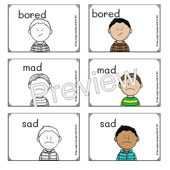 (3 Day Freebie) Social-Emotional Visual Supports