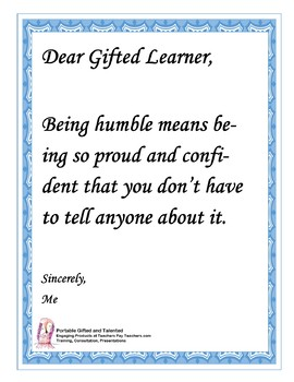 Social Emotional Warm-ups for Gifted Learners FREE!
