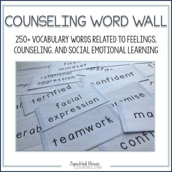 Social Emotional Word Wall