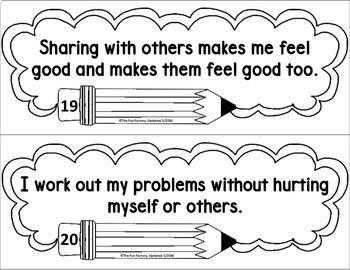 Social Emotional Learning, Character Education, Anti-Bullying Activities