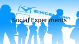 Social Experiments (conducted by students) - Project Introduction