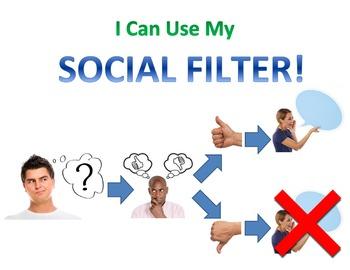 "Social Filter Flowchart (8.5"" x 11"" Version)"