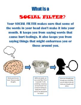 Social Filter Handout