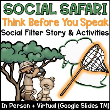 Social Filter Lesson Plan – Social Safari