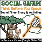 Social Filter Lesson Plan – Social Safari