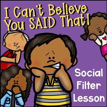 Social Filter Activity