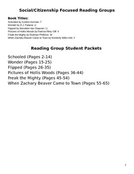 Social Focused Fiction Reading Groups
