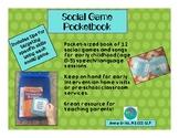 Social Game Pocketbook For Early Childhood SLPs