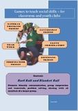 Social Games for Kids - Barf Ball and Blanket Ball