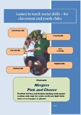 Social Games for Kids - Mergers and Pick and Choose