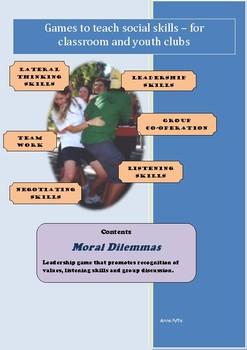 Social Games for Kids - Moral Dilemmas