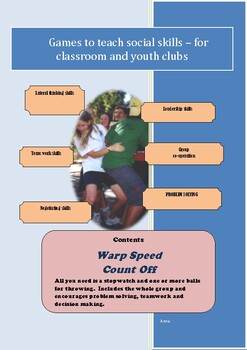 Social Games for Kids - Warp Speed and Count off