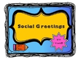 Social Greetings With Visuals