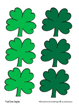 """Social Group Game Play- """"Lookin' for Lucky Clovers"""""""