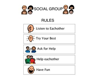 Social Group Visual