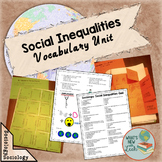 Social Inequalities Sociology Vocabulary Unit