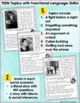 Problem Solving Social Skills Teen Activities 1 for Special Education