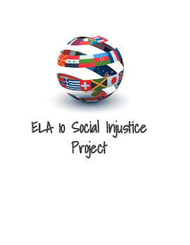 Social Injustice Argumentative Research Project Pack