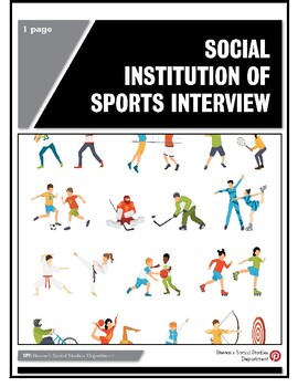 Social Institution of Sports Interview