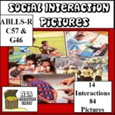 Social Interaction Pictures, Autism, ABA Use with ABLLS-R