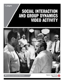 Social Interaction and Group Dynamics Video Activity