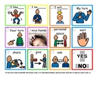 Social Interactions Lanyard (Autism)