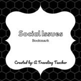 Social Issues Book Club- Bookmark