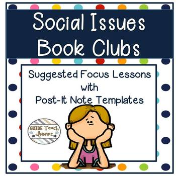 Social Issues Book Clubs with Daily Discussion Prompts