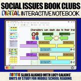 Social Issues Book Clubs: DIGITAL Interactive Notebook (Un