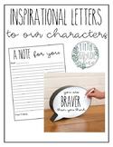 Social Issues - Letter to Main Character