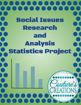 Social Issues Research and Analysis Statistics Project