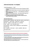 Social Issues Study Topics