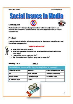 Social Issues in Media