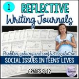Reflective Journals for Teens - Social Issues in Teens' Lives
