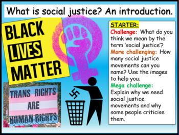 Social Justice 10 Hour Unit
