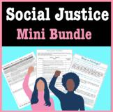 Social Justice Activities Mini Bundle: Racism, Privilege,
