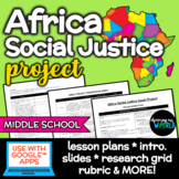 Middle School African Social Justice Project