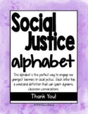 Social Justice Alphabet for Empowering Students and Inclus